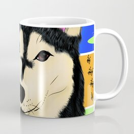 Titan de one dollar husky Coffee Mug