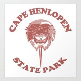 Cape Henlopen - Delaware. Art Print