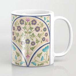 Art Nouveau Morning Glory Garden Coffee Mug