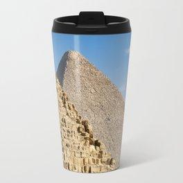 Pyramids of Khufu and Khafre, Giza Travel Mug