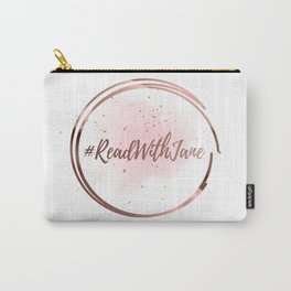 #ReadWithJane Logo Carry-All Pouch
