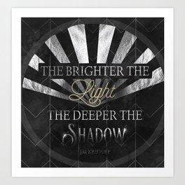The Brightr The Light Art Print