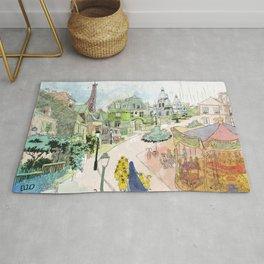 Madeline Montmartre colored Rug