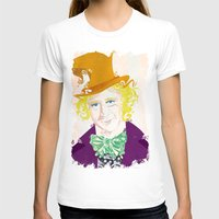willy wonka T-shirts featuring Wilder Wonka by Joshua A. Biron
