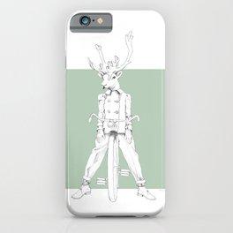 Weird & Wonderful: Racing Reindeer iPhone Case