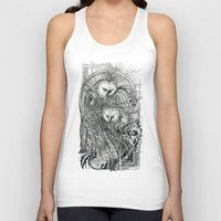 owls Tank Tops featuring Owls by Irina Vinnik