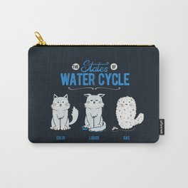 The States of the Water Cycle Carry-All Pouch