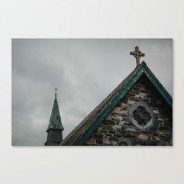 Old Ireland Church Canvas Print