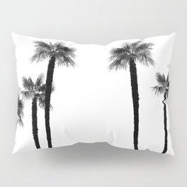 Minimal Black & White Palms #1 #tropical #decor #art #society6 Pillow Sham