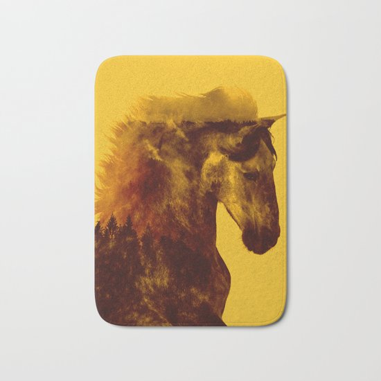 Proud Stallion Bath Mat
