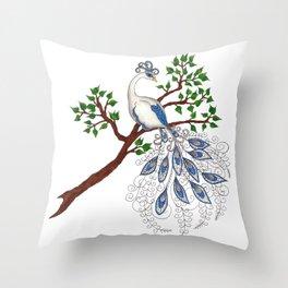 The Moonlark Throw Pillow