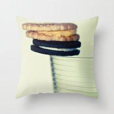 A Balanced Diet II Throw Pillow