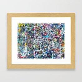 Weakening Cables Framed Art Print