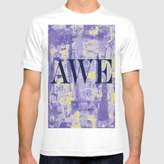 AWE Mens Fitted Tee SMALL White