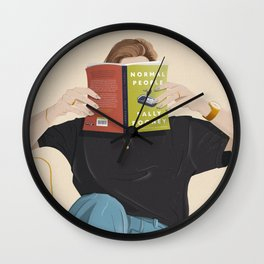 Normal People Wall Clock
