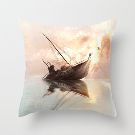 The Tipping Point Throw Pillow