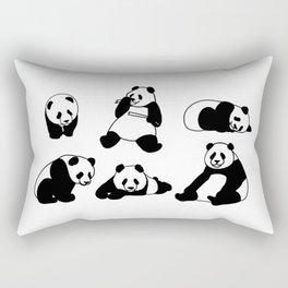Panda group Rectangular Pillow