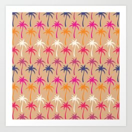 Palm Trees #3 Art Print