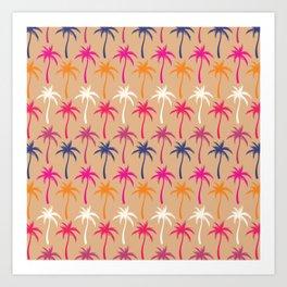 Palm Trees #3 Art Print