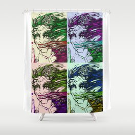 acidity pop art Shower Curtain