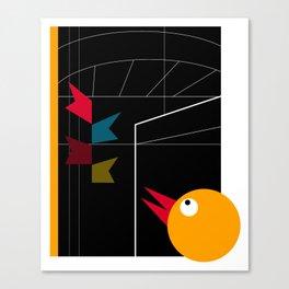 DBM BIRD IN THE CITY Canvas Print