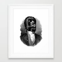 bdsm Framed Art Prints featuring BDSM XIV by DIVIDUS