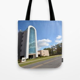 Northeastern State University - The W. Roger Webb IT Building, No. 3 Tote Bag
