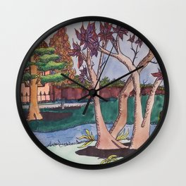 Oak Park Wall Clock