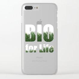 Organic Organic Life 100% Gift Clear iPhone Case