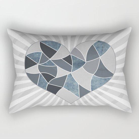 Heart . Patchwork .2 Rectangular Pillow