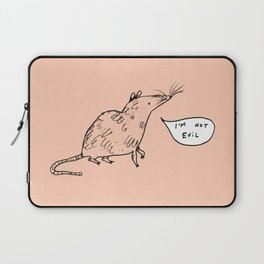 Rats Aren't Evil Laptop Sleeve