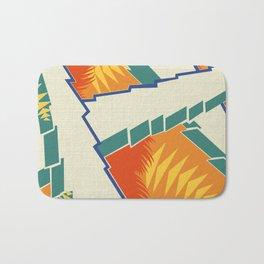 AGONDA Art Deco Modern: FISH BOWL Bath Mat