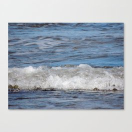 Incoming Canvas Print