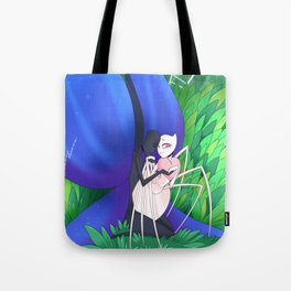 The Spider and The Butterfly Tote Bag