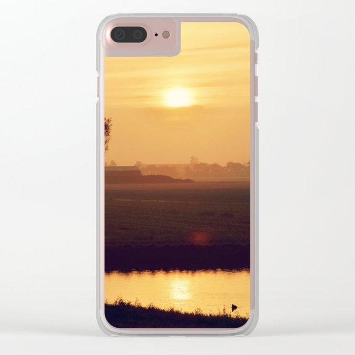 City Sunlight #4 Clear iPhone Case