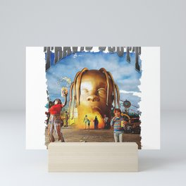Travis Scot ASTROWORLD Mini Art Print