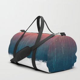 Meteor Rain (light version) Duffle Bag