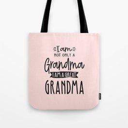 Cute Great Grandma Funny Great Grandma Gift Tote Bag