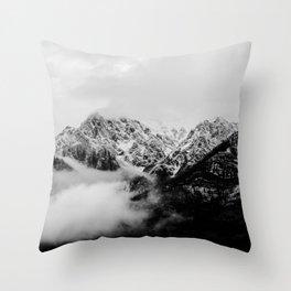 Canadian Rockies Throw Pillow