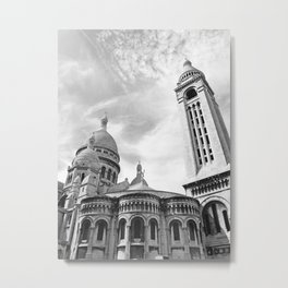 The Sacre-Coeur Basilica Metal Print
