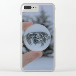 See Through the Lens Clear iPhone Case