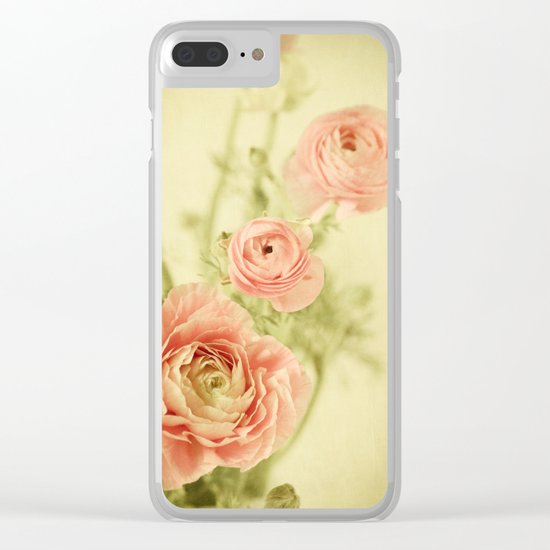 Sweet Spring Clear iPhone Case