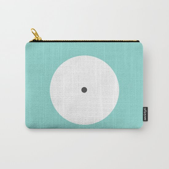 This is the point in blue Carry-All Pouch