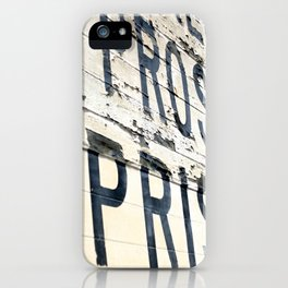 Prosecution and Imprisonment iPhone Case