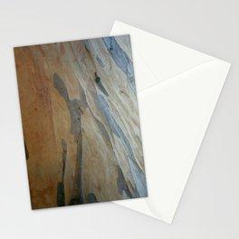 Eucalyptus Exposing New Bark Layers Stationery Cards