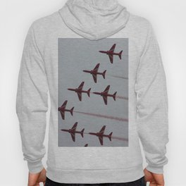 Royal Air Force Fighter Planes In Formation Hoody