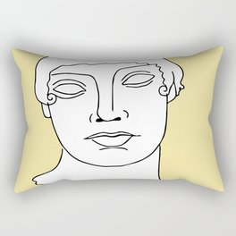 Blonde Boy Rectangular Pillow