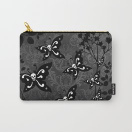 Skullerflies in the garden - dark scale Carry-All Pouch