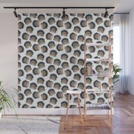 Hedgehog pattern Wall Mural