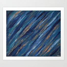 Adventures in Texture 1  Art Print